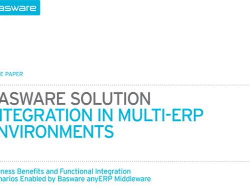 Basware: Integration in Multi-ERP Environments
